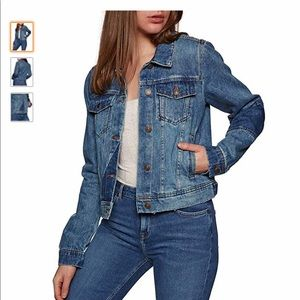 NWT Free People Denim Jacket
